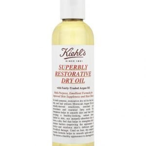 Kiehl's Superbly Restorative Argan Dry Oil Vartaloemulsio 200 ml