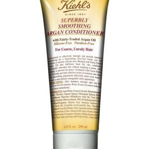 Kiehl's Superbly Smoothing Argan Conditioner Hoitoaine 200 ml