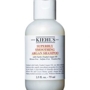 Kiehl's Superbly Smoothing Argan Shampoo Travel Size 75 ml Shampoo
