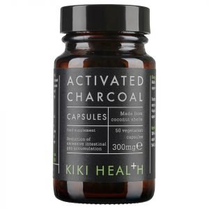Kiki Health Activated Charcoal 50 Vegicaps