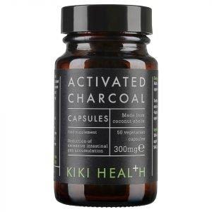 Kiki Health Activated Charcoal 50 Vegicaps