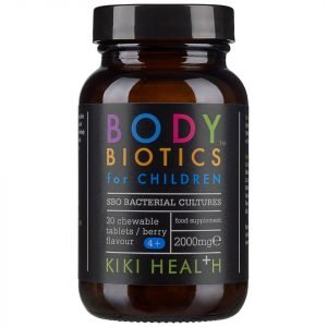 Kiki Health Body Biotics Chewable Tablets For Children 30 Tablets