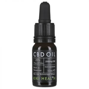 Kiki Health Cbd Oil 25% 10 Ml Gold Edition
