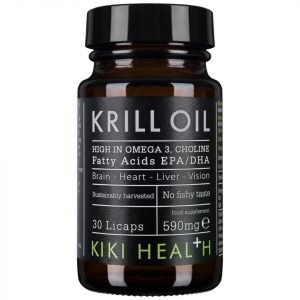 Kiki Health Krill Oil Softgels 30 Capsules