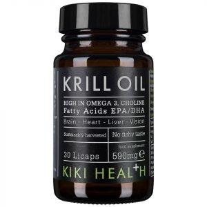 Kiki Health Krill Oil Softgels 30 Capsules