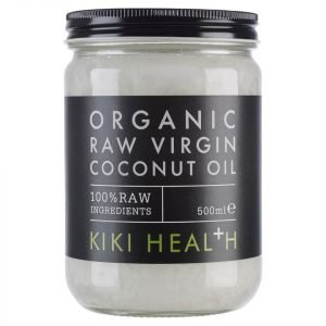 Kiki Health Organic Raw Virgin Coconut Oil 500 Ml