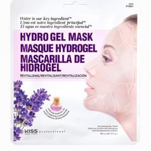 Kiss Professional New York Revitalizing Lavender Gel Mask Kasvonaamio