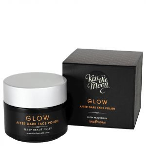 Kiss The Moon After Dark Face Polish 100g Glow