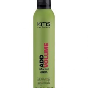 Kms California Addvolume Styling Foam Muotovaahto 300 ml
