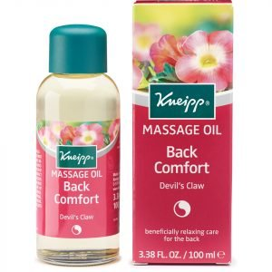 Kneipp Back Comfort Devil's Claw Massage Oil 100 Ml
