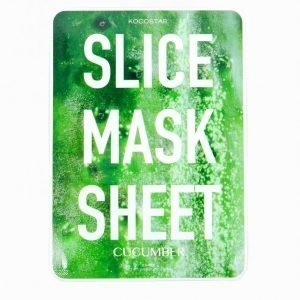 Kocostar Korean Slice Mask Sheet Kasvohoito Cucumber