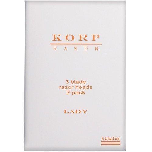 Korp Razor Refill 3-Blade 2-Pack Lady