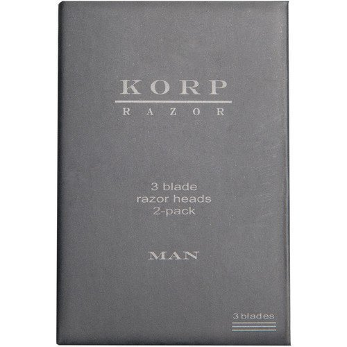 Korp Razor Refill 3-Blade 2-Pack Man
