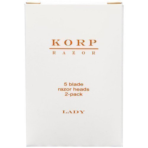 Korp Razor Refill 5-Blade 2-Pack Lady