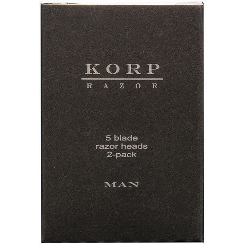 Korp Razor Refill 5-Blade 2-Pack Man
