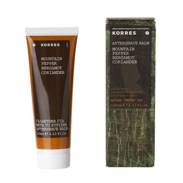 Korres After Shave Balm Mountain Pepper 125 ml