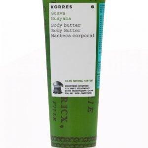 Korres Body Butter Guava 125 Ml Vartalovoide