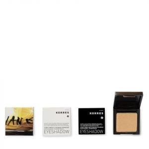 Korres Colour Shimmering Eyeshadow 27s Gold Bronze