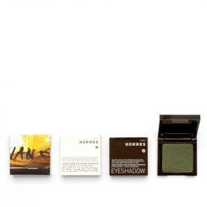 Korres Colour Sunflower & Primrose Eyeshadow 49 Cypress Green