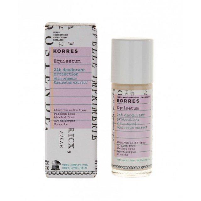 Korres Deodorant Sensitive 24hours 30 ml