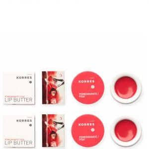 Korres Lip Butter Pomegranate Duo