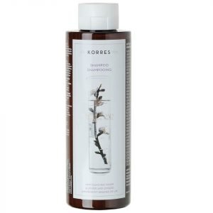 Korres Natural Almond And Linseed Shampoo For Dry / Damaged Hair 250 Ml