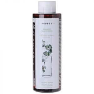 Korres Natural Aloe And Dittany Shampoo For Normal / Dull Hair 250 Ml