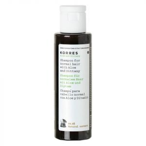 Korres Natural Aloe And Dittany Shampoo For Normal Hair Travel Size 40 Ml