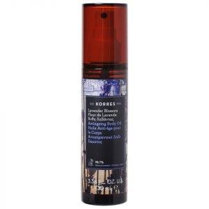 Korres Natural Anti-Ageing Lavender Blossom Body Oil 100 Ml