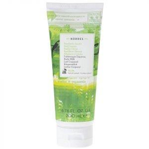 Korres Natural Basil Lemon Body Milk 200 Ml