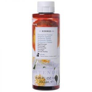 Korres Natural Bergamot Jasmine Shower Gel 250 Ml