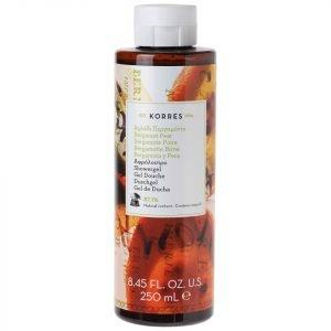Korres Natural Bergamot Pear Shower Gel 250 Ml