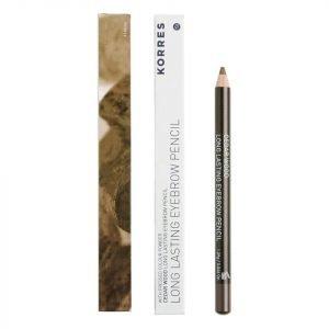 Korres Natural Cedar Wood Long Lasting Eyebrow Pencil Various Shades Dark