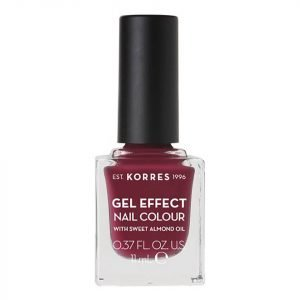 Korres Natural Gel Effect Nail Colour Berry Addict 11 Ml