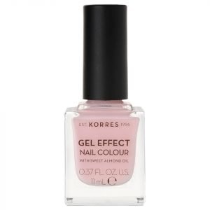 Korres Natural Gel Effect Nail Colour Candy Pink 11 Ml