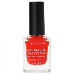 Korres Natural Gel Effect Nail Colour Coral 11 Ml