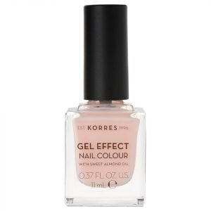 Korres Natural Gel Effect Nail Colour Peony Pink 11 Ml