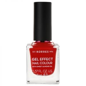 Korres Natural Gel Effect Nail Colour Royal Red 11 Ml