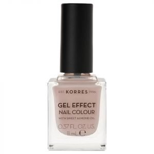 Korres Natural Gel Effect Nail Colour Sandy Nude 11 Ml