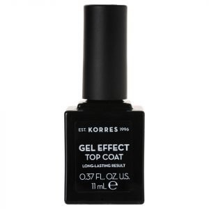 Korres Natural Gel Effect Nail Colour Top Coat 11 Ml