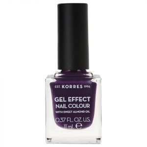 Korres Natural Gel Effect Nail Colour Violet Garden 11 Ml