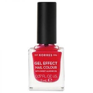 Korres Natural Gel Effect Nail Colour Watermelon 11 Ml