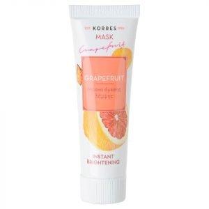 Korres Natural Grapefruit Instant Brightening Mask 18 Ml