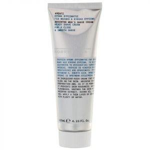 Korres Natural Men's Absinthe Heady Shave Cream 125 Ml