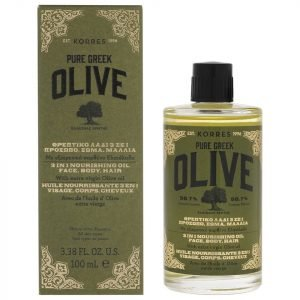 Korres Natural Pure Greek Olive 3-In-1 Nourishing Oil For Face