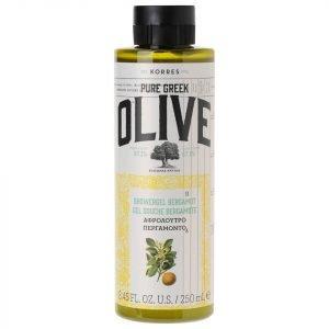 Korres Natural Pure Greek Olive And Bergamot Shower Gel 250 Ml