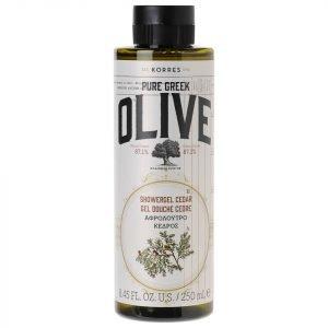 Korres Natural Pure Greek Olive And Cedar Shower Gel 250 Ml
