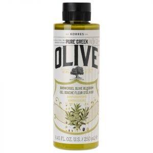 Korres Natural Pure Greek Olive And Olive Blossom Shower Gel 250 Ml