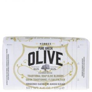 Korres Natural Pure Greek Olive And Olive Blossom Soap 125 G