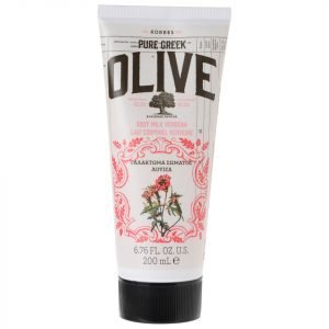 Korres Natural Pure Greek Olive And Verbena Body Cream 200 Ml